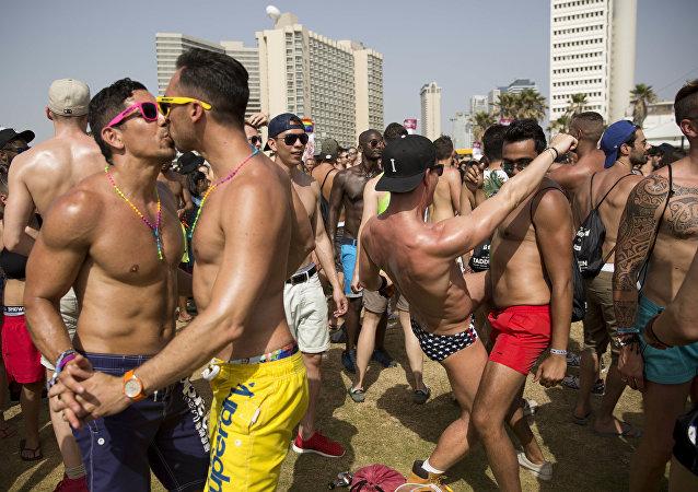 El desfile de orgullo gay en Israel