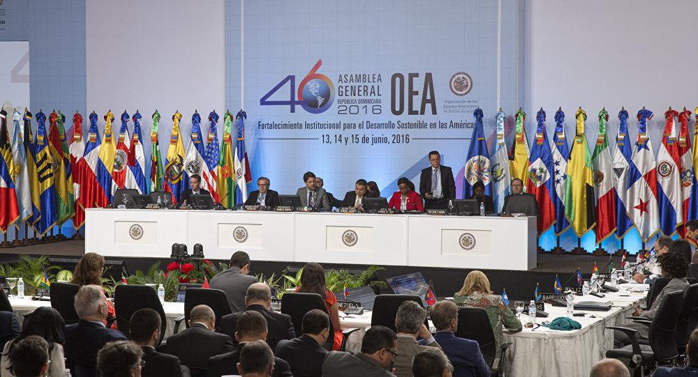La 46ª Asamblea General de la Organización de Estados Americanos (Archivo)