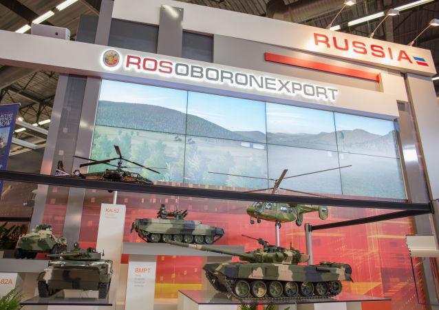 La exposición internacional de armamento Eurosatory en París