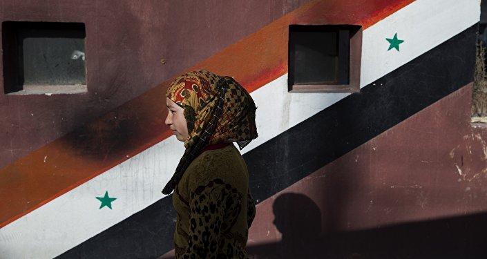 Una ciudadana siria