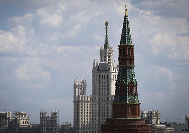 El panorama de Moscú