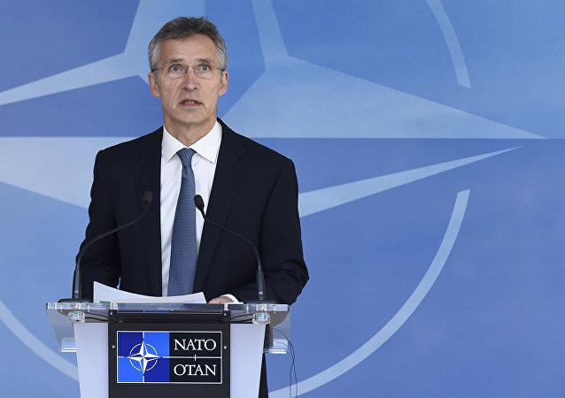 Jens Stoltenberg, sercetario general de la OTAN