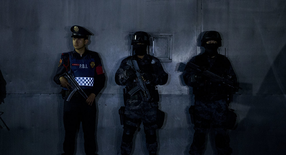 Policías mexicanos (archivo)