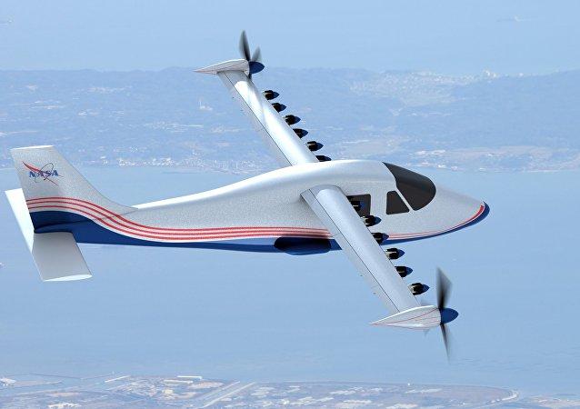 Avión eléctrico X-57 (Maxwell)