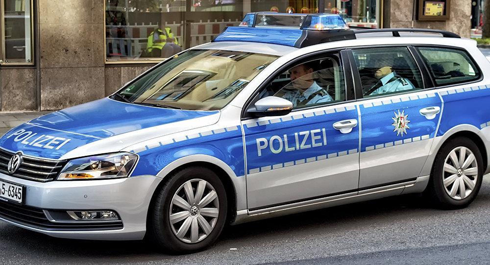 Policías alemanes en Colonia