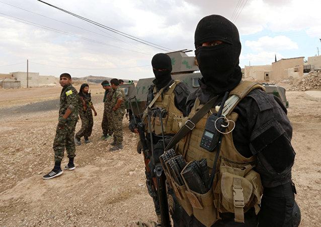 Insurgentes sirios en Alepo, Siria