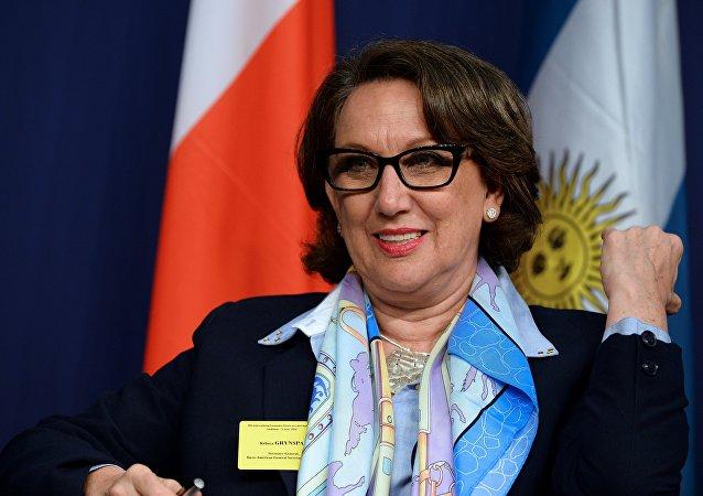Rebeca Grynspan, la Secretaría General Iberoamericana