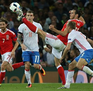 Eurocopa - 2016. Partido de Rusia contra Gales