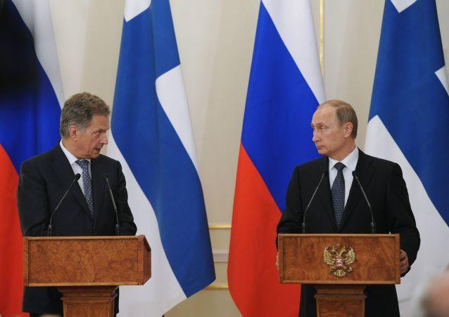 Sauli Niinistö y Vladimir Putin