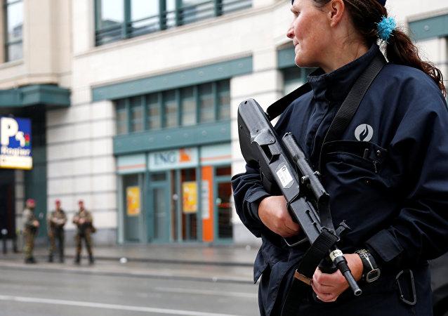 Una policía belga (archivo)