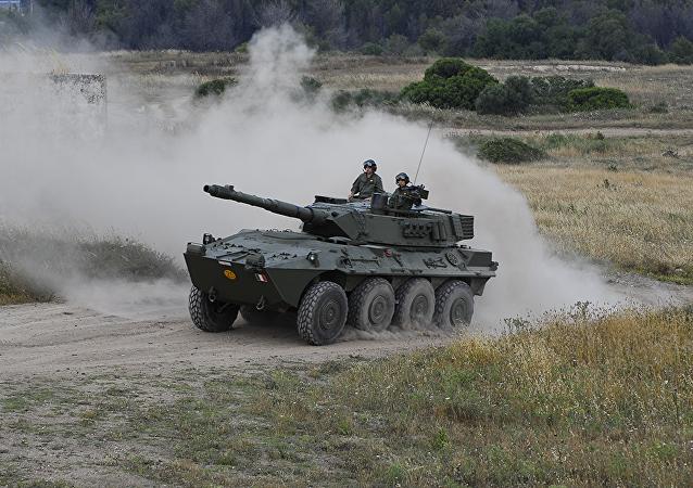 Centauro, carro de combate italiano