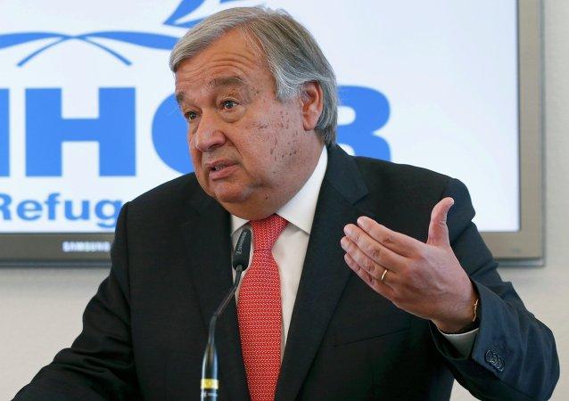 António Guterres, secretario general de la ONU (archivo)