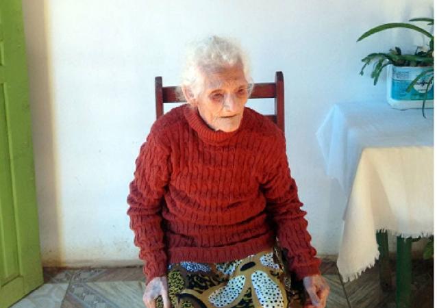 Jesuína dos Santos, la mujer más longeva del mundo