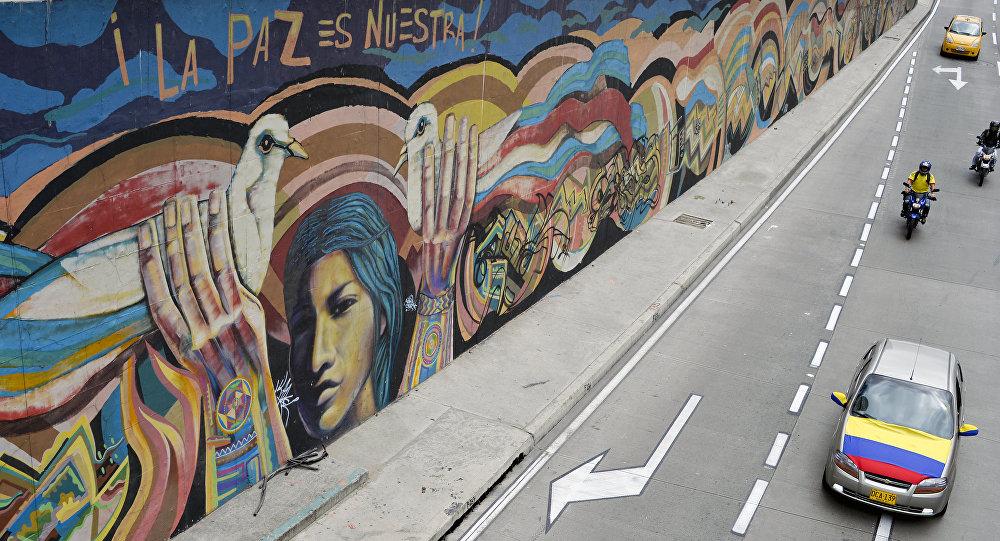 Grafiti La paz es nuestra