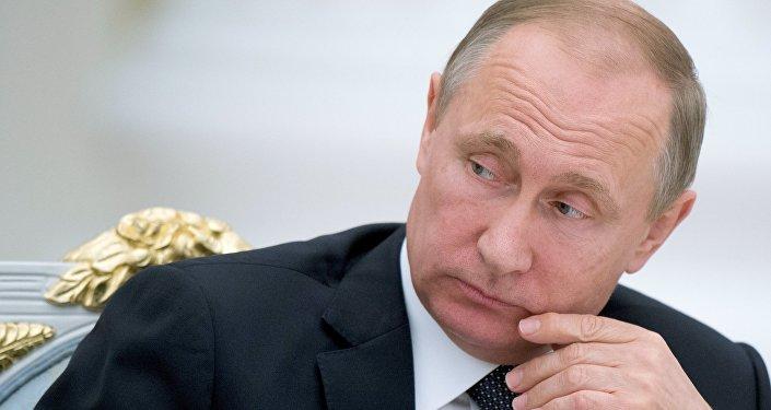 El presidente de Rusia Vladímir Putin