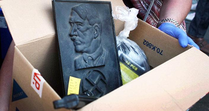 Retrato de Adolf Hitler