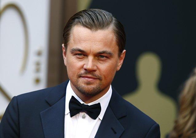 Leonardo Di Caprio, el actor estadounidense