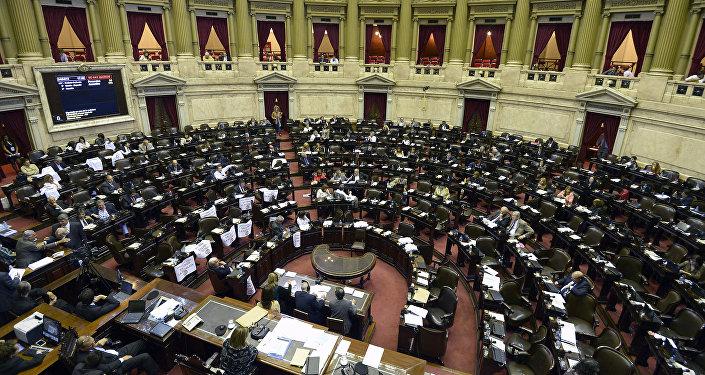 La Cámara de Diputados de Argentina (archivo)