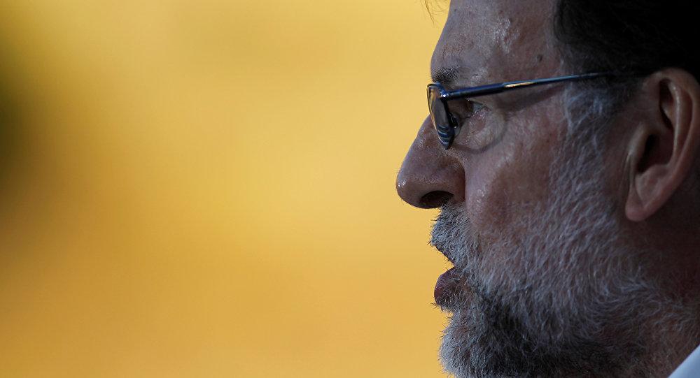 Mariano Rajoy, el presidente en funciones del Gobierno español