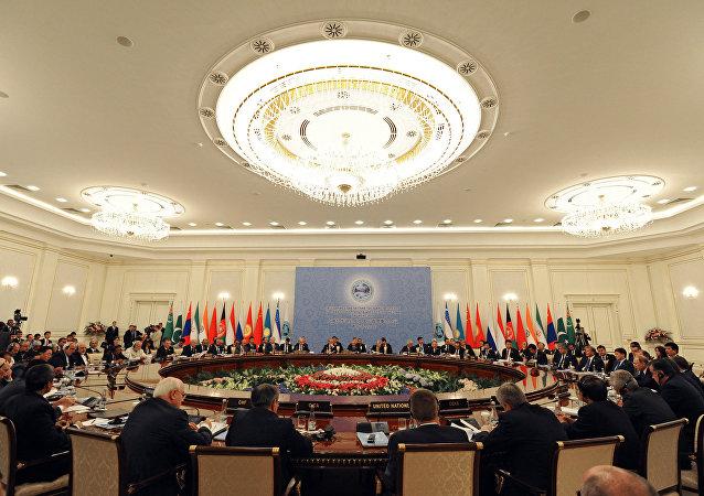 Cumbre de la OCS en Taskent (archivo)