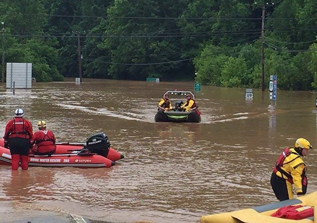 Inundaciones en Virginia Occidental