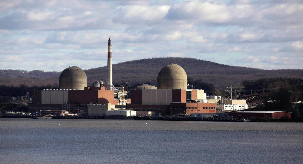 La central nuclear Indian Point en Nueva York, EEUU
