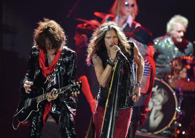 Concierto de Aerosmith en Moscú