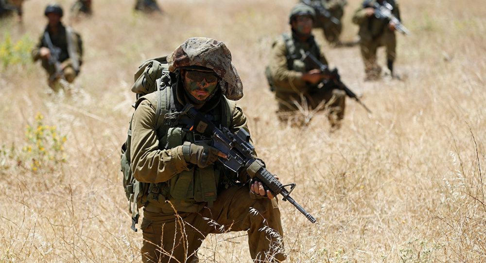 Soldados israelíes en Siria (archivo)