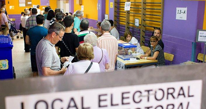 Las elecciones generales en España
