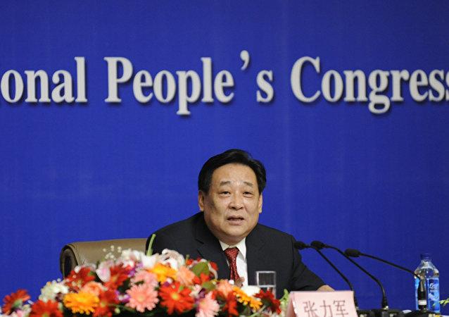 Zhang Lijun, antiguo viceministro de Medioambiente de China