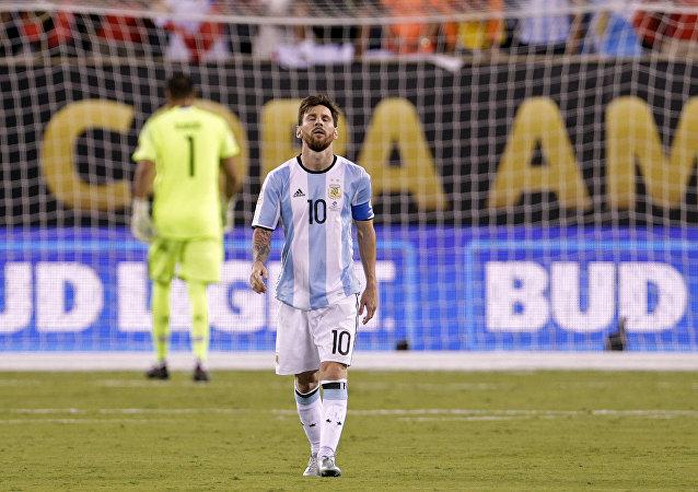 Lionel Messi, el delantero argentino