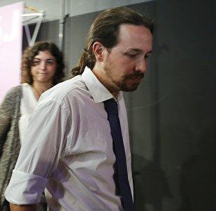 Pablo Iglesias, lider de Podemos