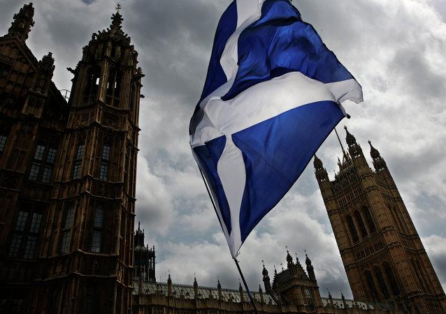 Bandera de Escocia (archivo)