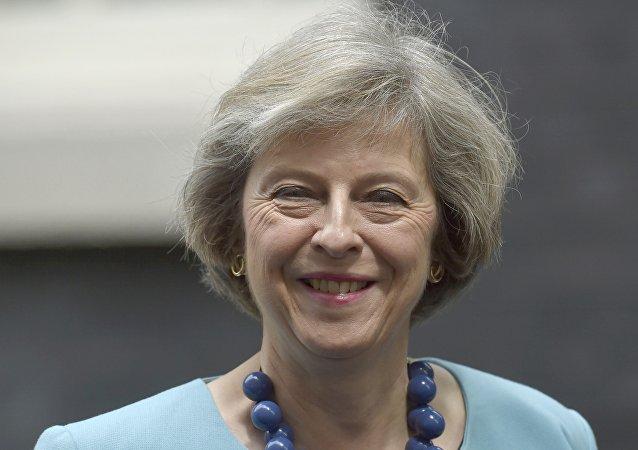 Theresa May, ministra británica del Interior del Reino Unido