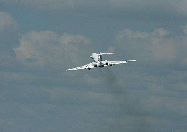 El avión Tu-154M (Archivo)