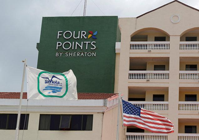 El 'Four Points', gestionado por la cadena estadounidense Sheraton, abrió sus puertas en La Habana el pasado 27 de junio.