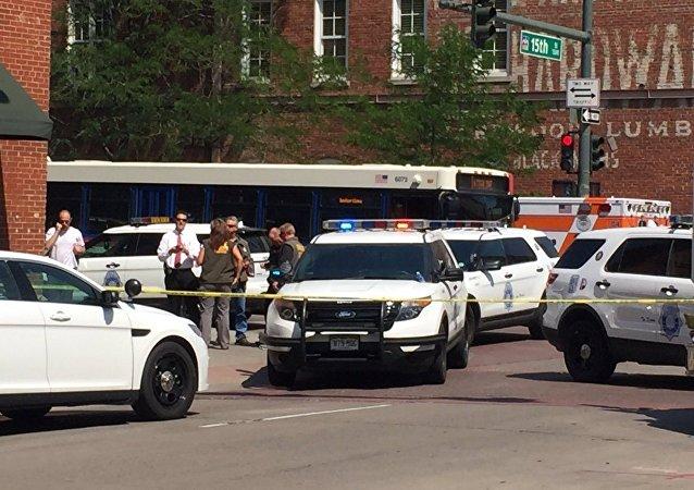 Lugar del tiroteo en Denver
