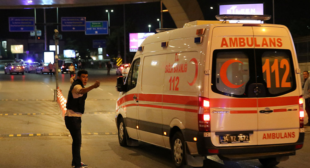 Una ambulancia en Estambul (Archivo)