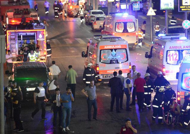 Ataque terrorista en Estambul