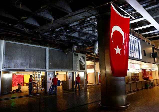 Aeropuerto Ataturk tras el atentado