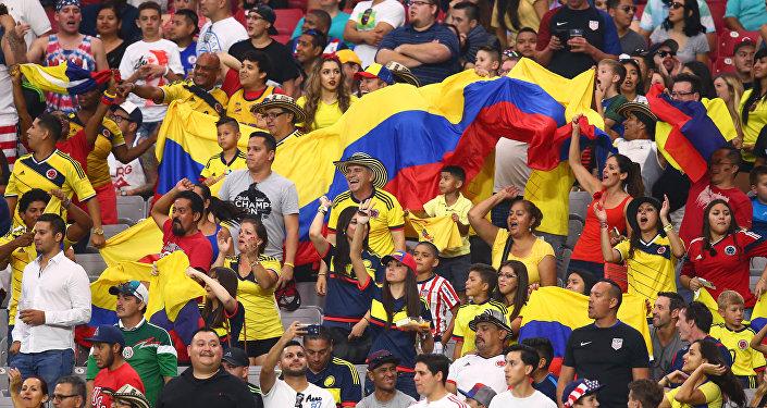 Hinchas de Colombia (archivo)