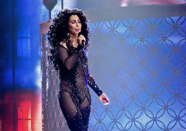 Cher, la cantante estadounidense