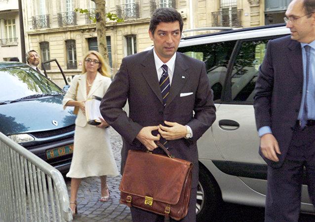 Horacio Rosatti, exministro argentino de Justicia del expresidente Néstor Kirchner (archivo)
