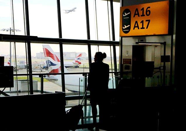 El aeropuerto británico de Heathrow (archivo)