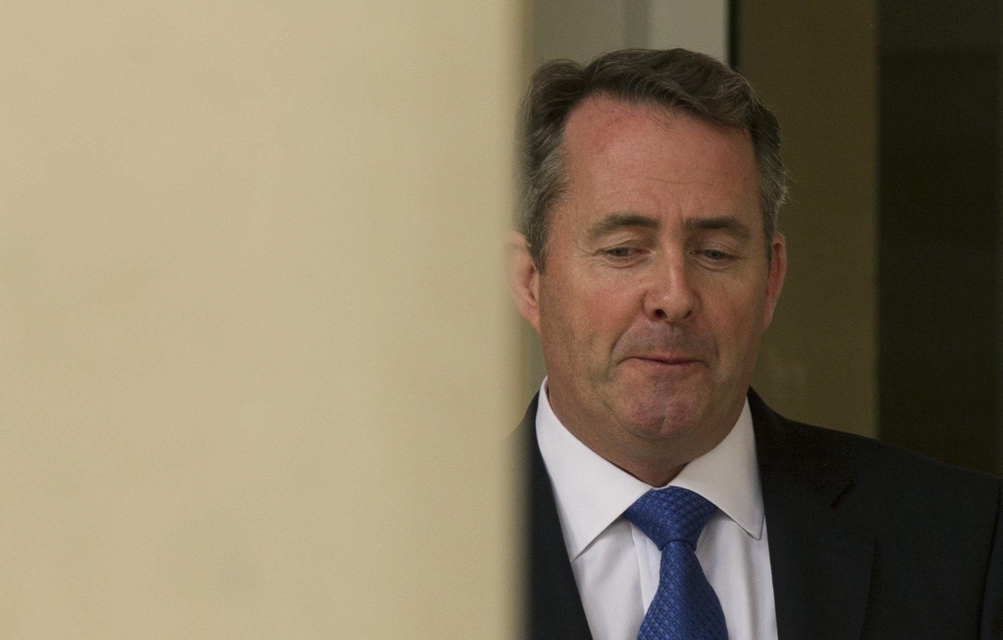 Liam Fox, ex ministro de Defensa