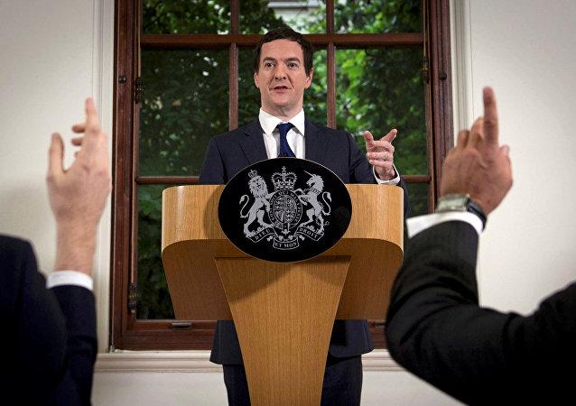 George Osborne, ex ministro de Economía del Reino Unido