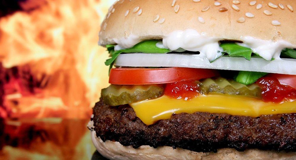Una hamburguesa (archivo)