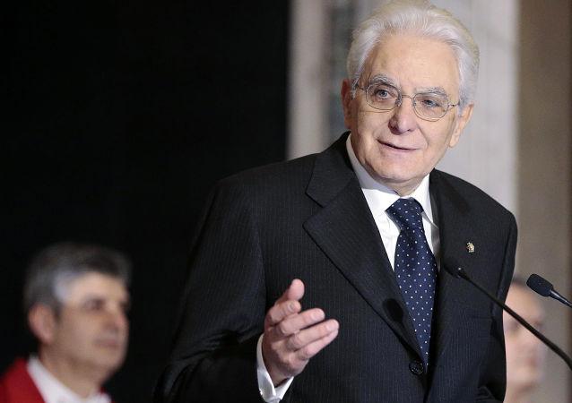 Sergio Mattarella, presidente de Italia (archivo)