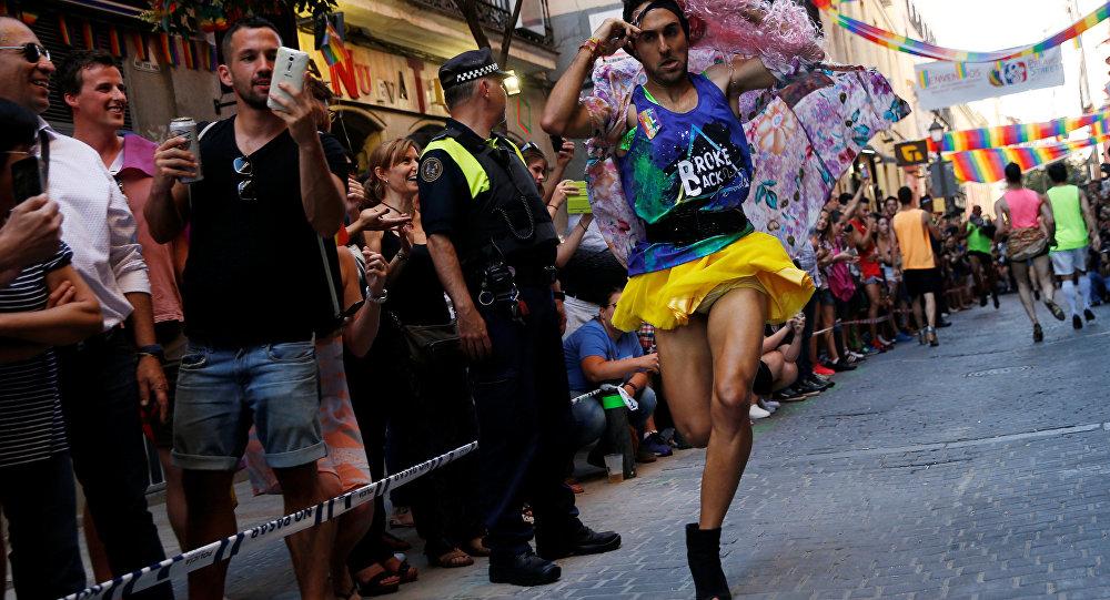 La manifestación del Orgullo Gay en Madrid
