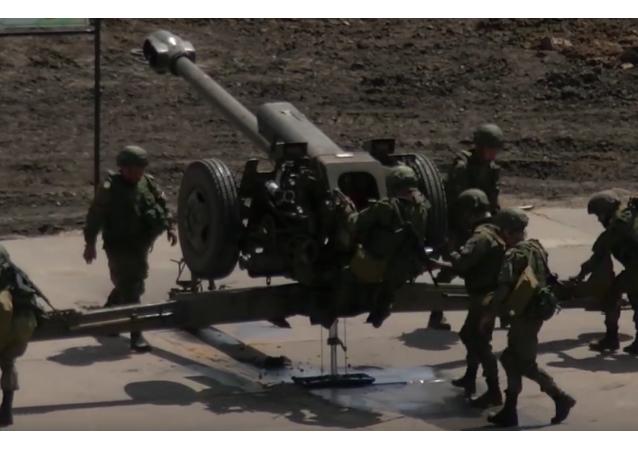 Concluye en Rusia el gran concurso militar